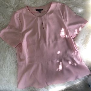 Banana Republic Blush Pink Blouse